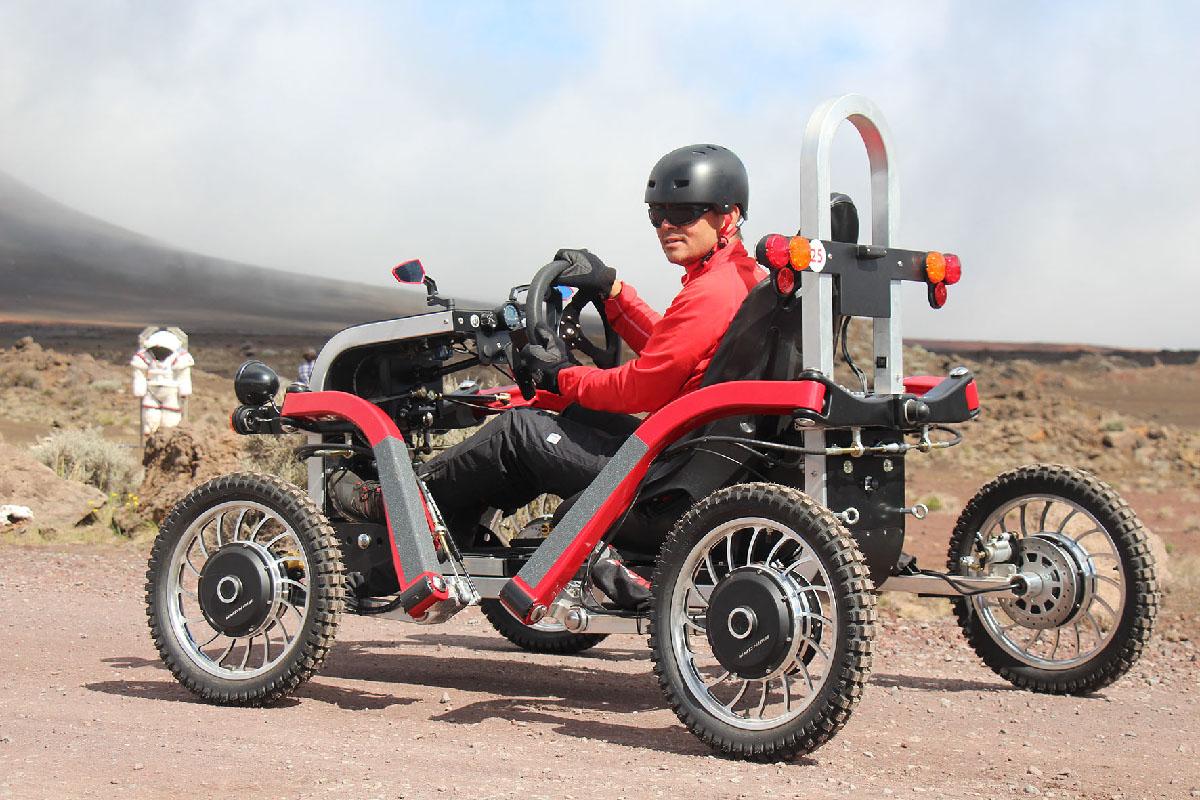En exclusivité, le « swincar » électrique était proposé par Atmosphère-Peï lors de Magma'Gnifique. Nous aurons l'occasion de vous le présenter plus en détails dans une de nos prochaines parutions