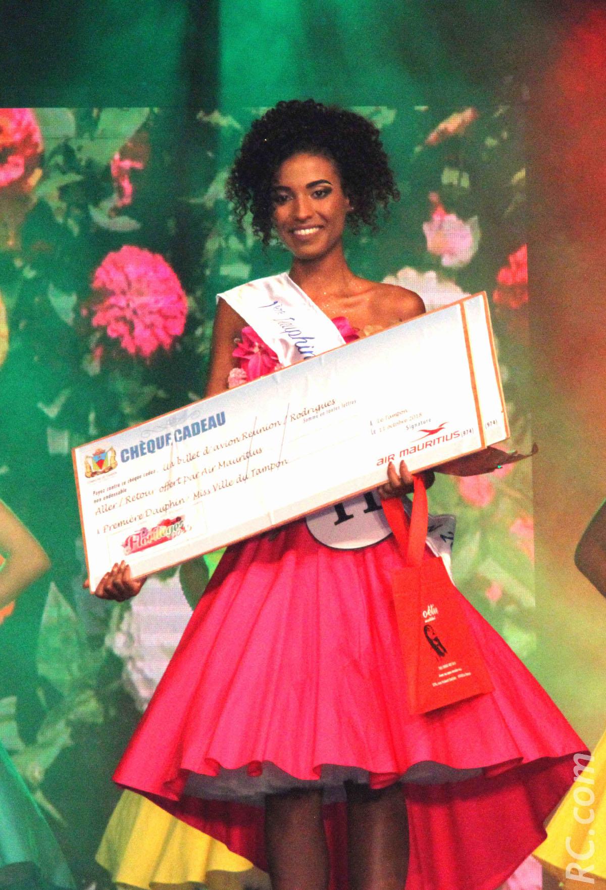 Miss Ville du Tampon 2018: Marie Barbier couronnée