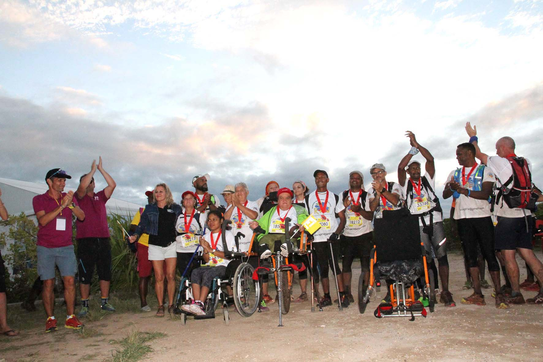 L'association Réunion Aventure Joëlette reste fidèle au Trail de Rodrigues. Patrick Lefèvre et ses camarades ont prévu de boucler un 24 km à travers les sentiers de l'île autenthique