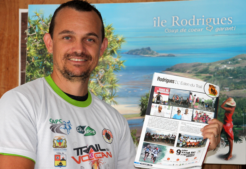 Didier Marie qui avait gagné un billet d'avion offert par Air-Mauritius de Rodrigues lors du Trail du Volcan, ira (pour la première fois) dans l'île aux Zourites pour y disputer un 25 km.