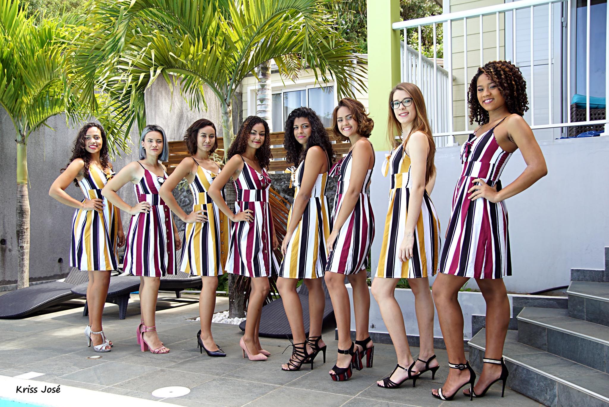 Les 8 candidates Miss Saint-Joseph 2018