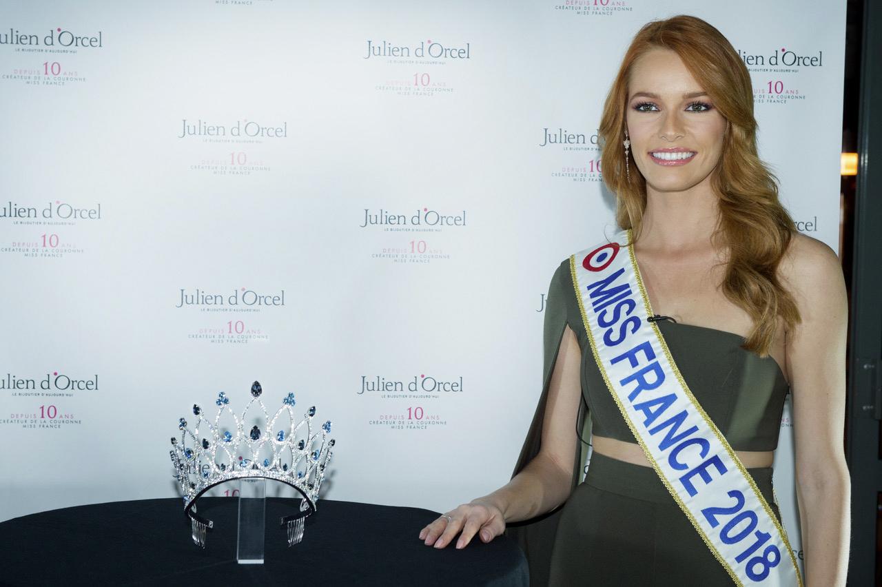 Maeva Coucke posera cette couronne sur la tête d'une des 30 Miss régionales le 15 décembre