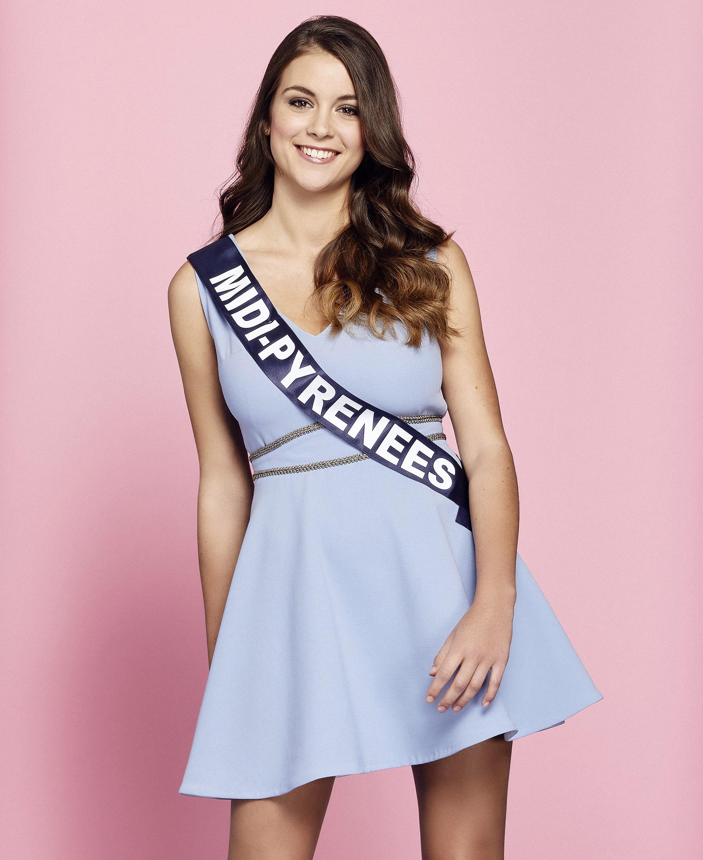 Miss Midi-Pyrenees - Axelle Breil
