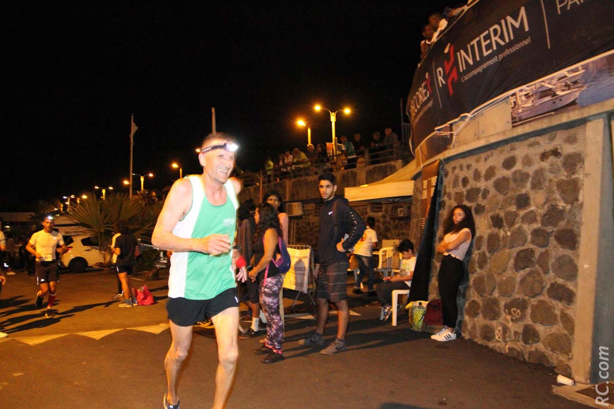 Denis Bornot, premier V4 sur 16 km