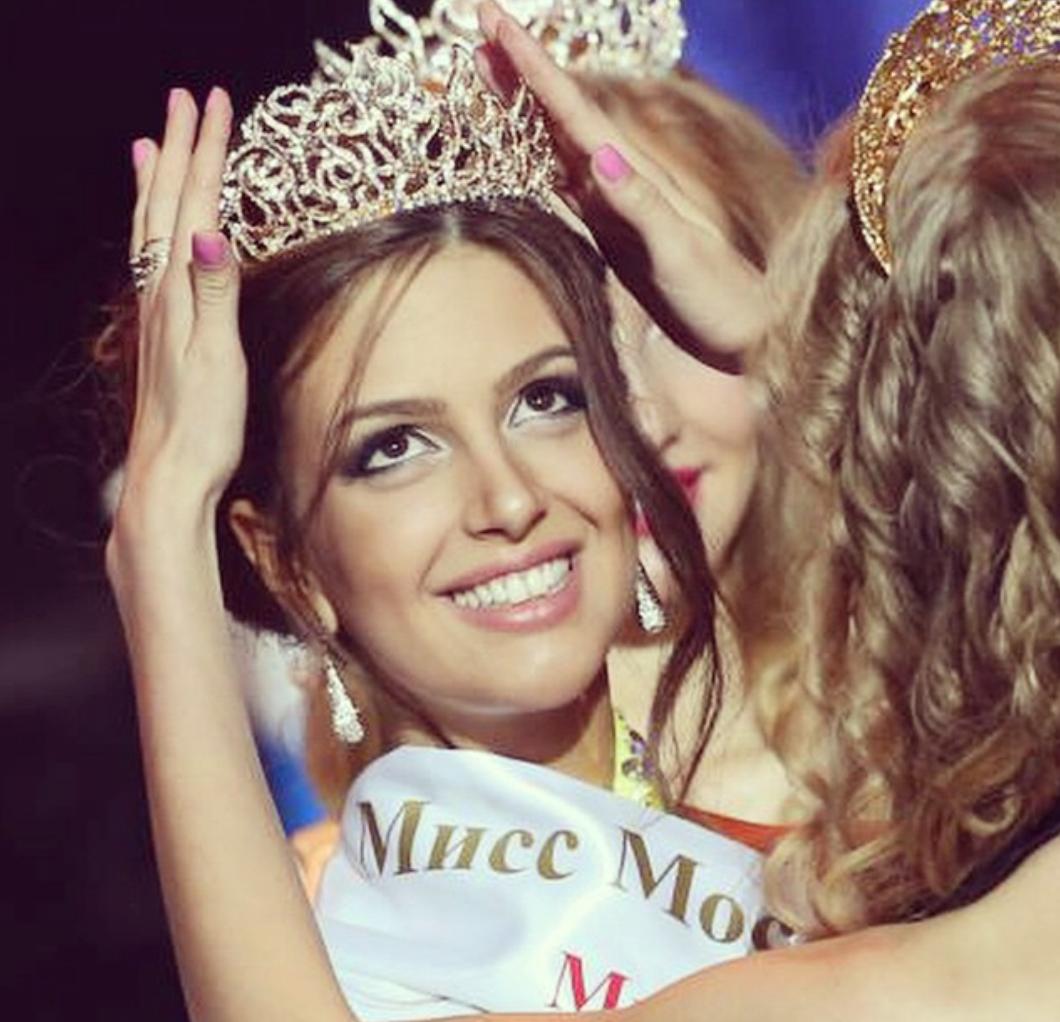 Elue Miss Moscou en 2015