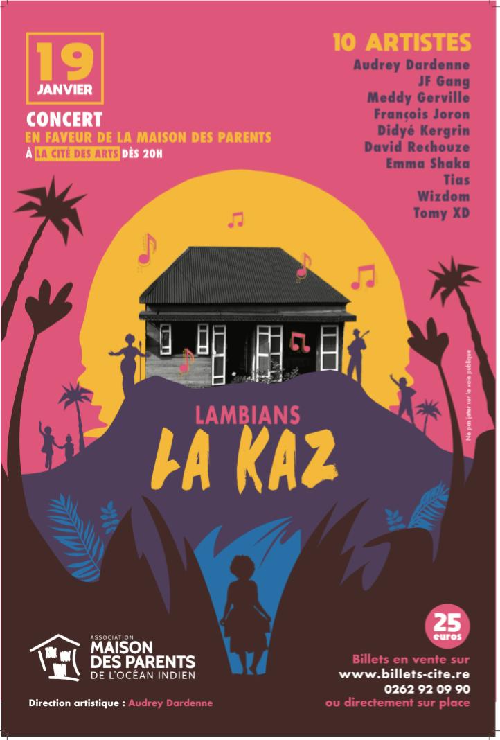 """""""Lambians la Kaz"""" à la Cité des Arts le 19 janvier"""