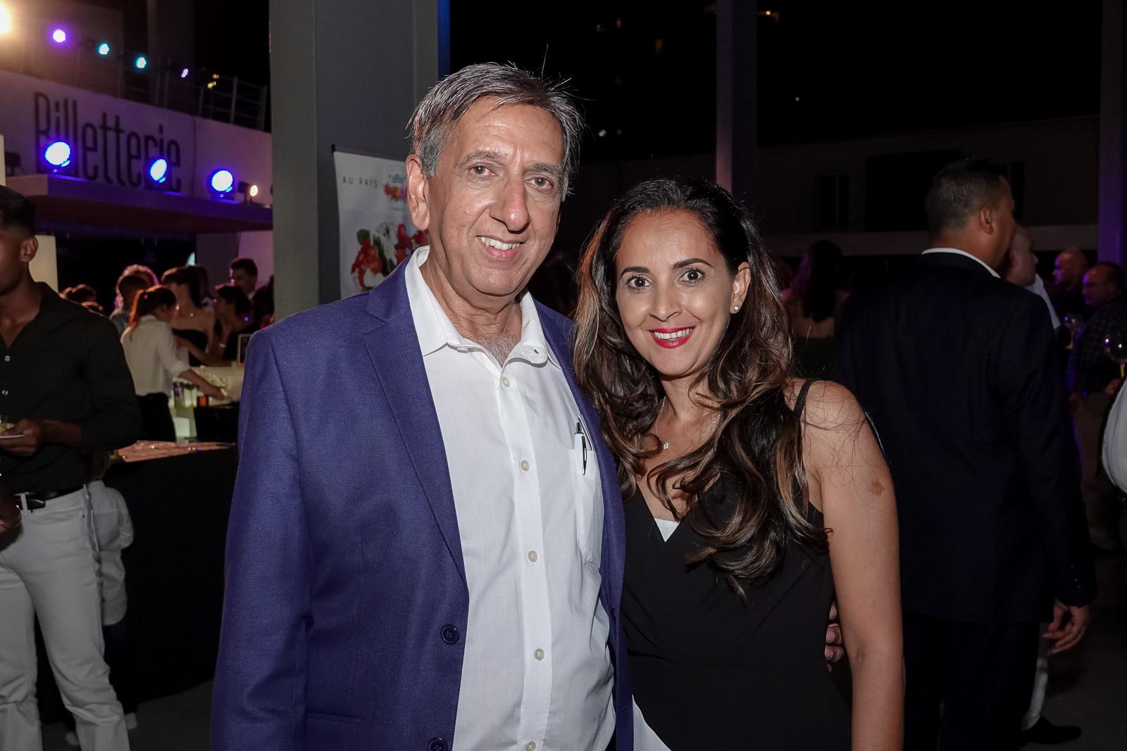 Aziz Patel et Amida Hussein, co-organisateurs de l'événement