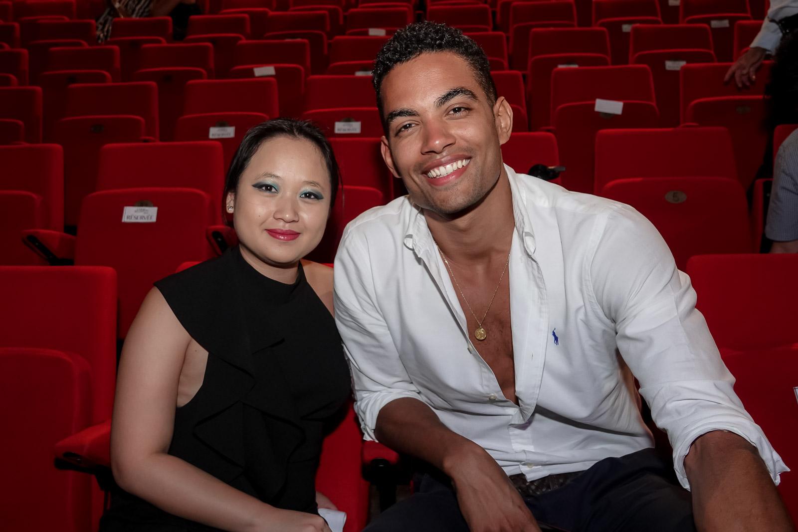Laetitia Ho-Mouye et Terence Tell
