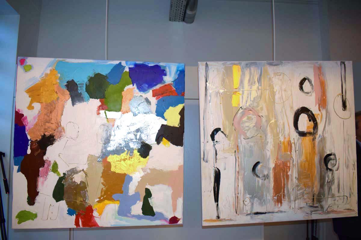 Caroline Faindt: une artiste-peintre atypique