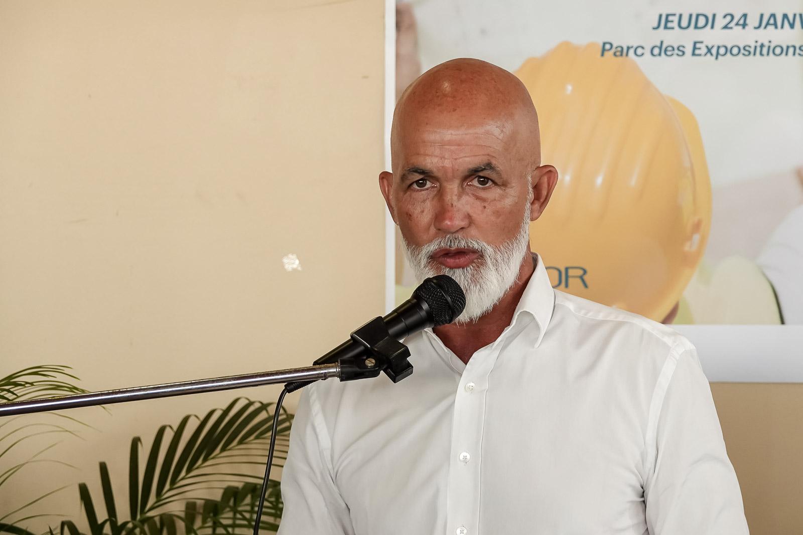 Gérald Maillot sera candidat à la mairie de Sainte-Marie en 2020