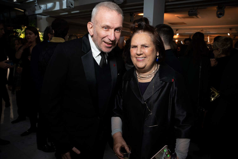 Jean Paul Gaultier et Suzy Menkes