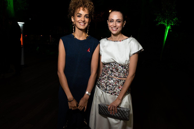 Leïla Slimani et Anne Berest