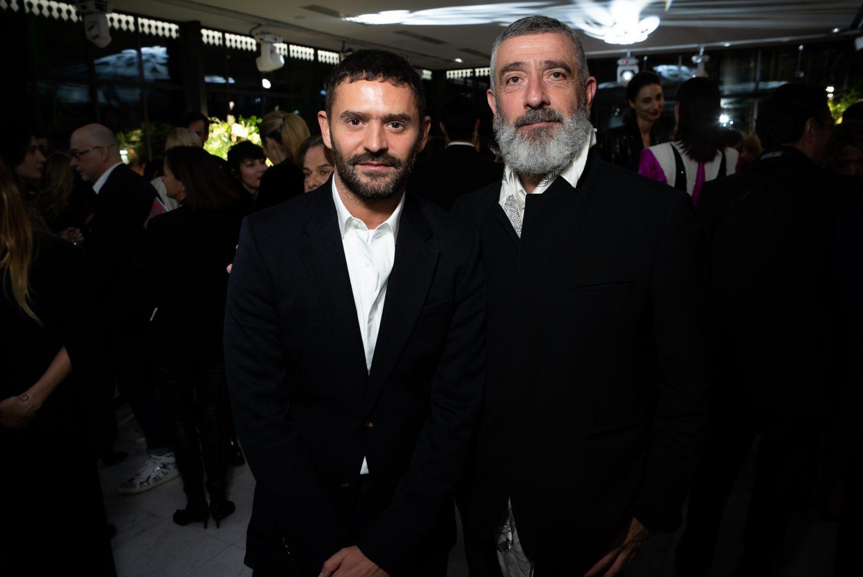 Alexandre Mattiussi et Jean-Pierre Blanc