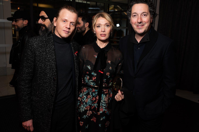 Alex Lutz, Anne Marivin et Guillaume Gallienne