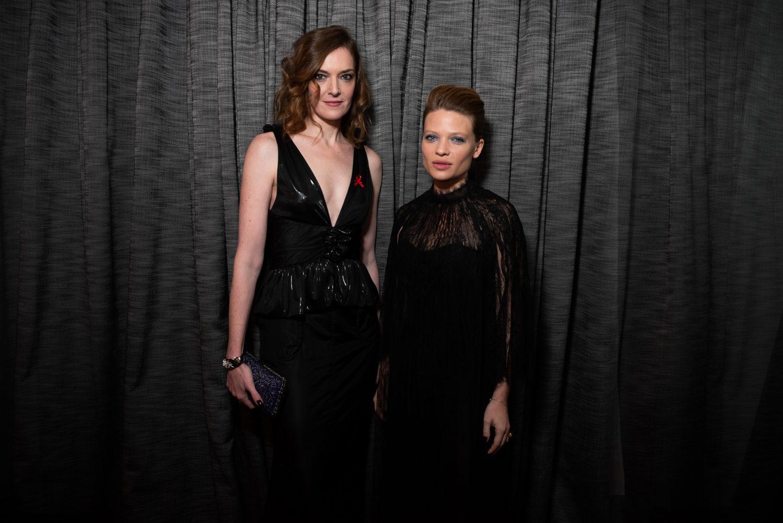 Kate Moran et Mélanie Thierry
