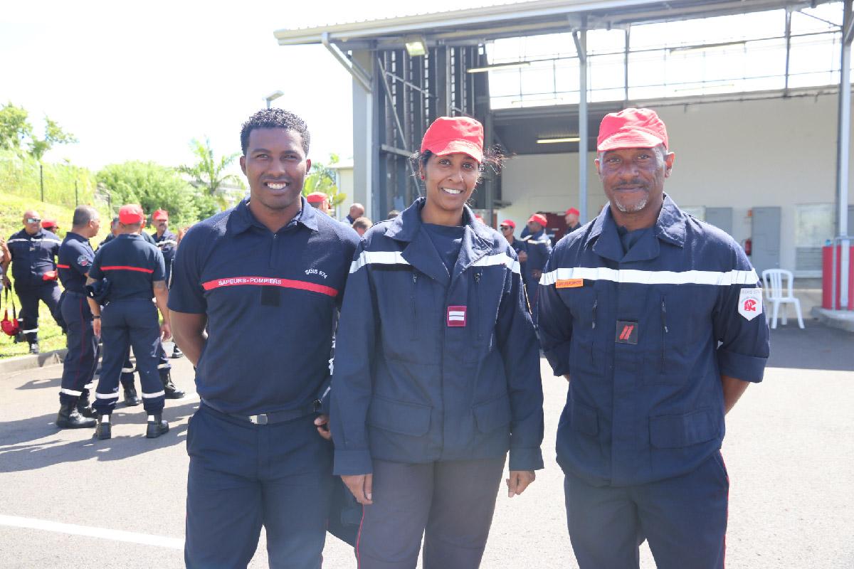 Hommage au sapeur pompier l'adjudant Jessy Eve