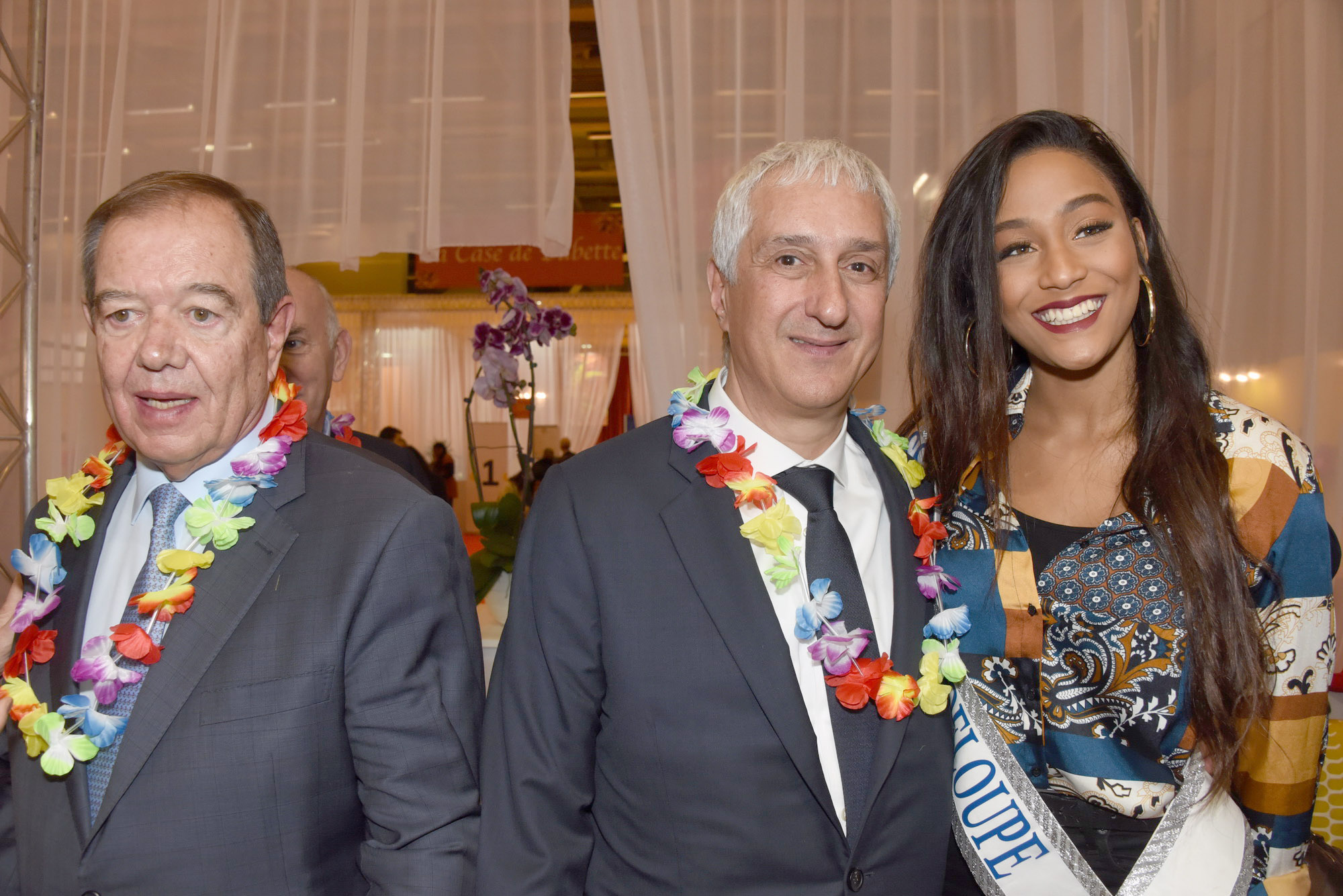 Patrick Ollier, Stéphane Layani, et Morgane Thérésine