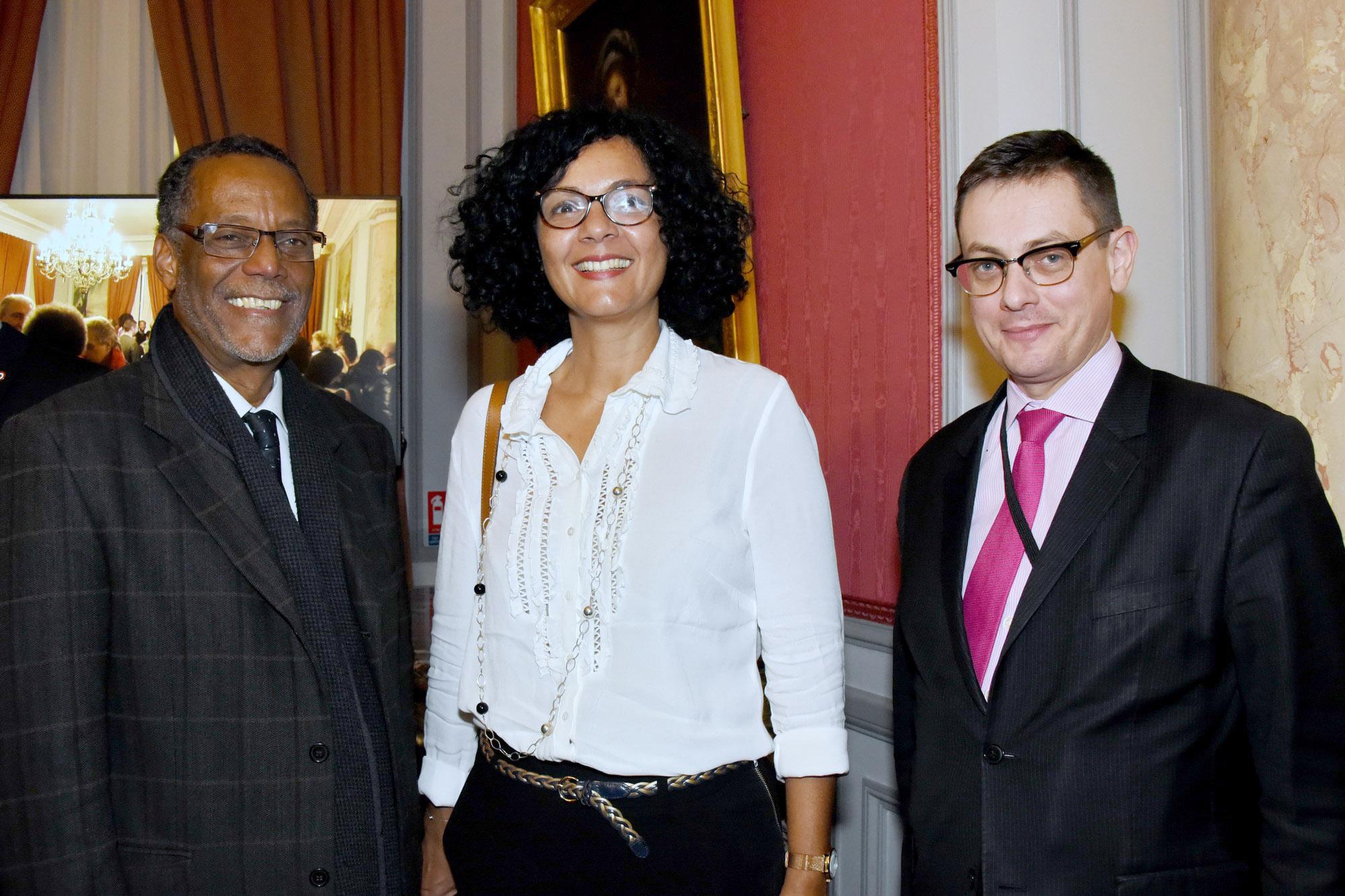 Nathalie Bassire, députée de La Réunion, et Xavier Brunetière, ex-secrétaire généraldelaPréfecture de La Réunion