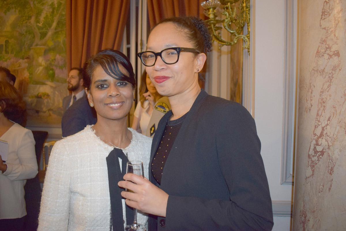 Marie-Christine Ponamalé, de Outre-mer 360°, et une invitée