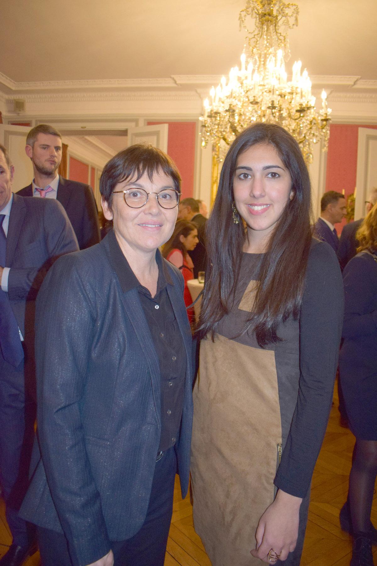 Annick Girardin et Mariyah Patel