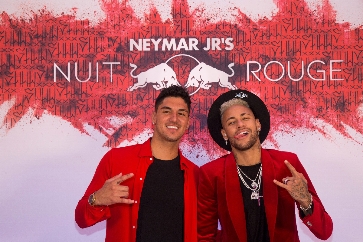 Neymar Jr. et Gabriel Medina