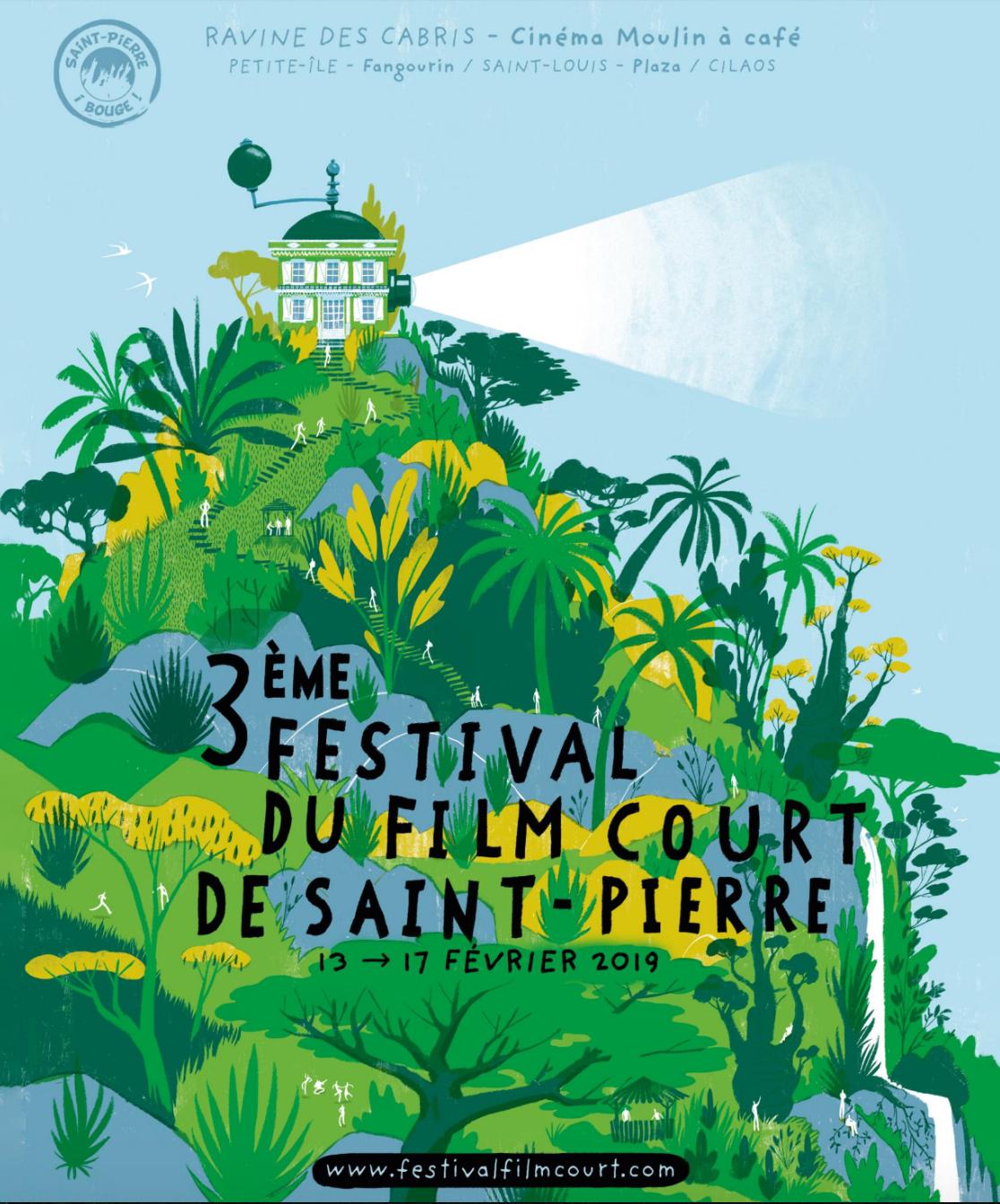 Festival du Film Court à Saint-Pierre: du 13 au 17 février à Saint-Pierre