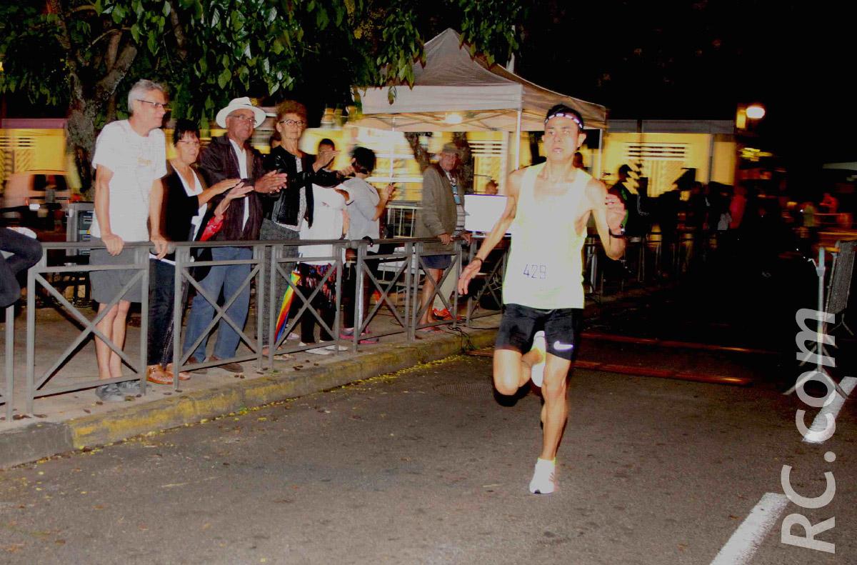 Laurent Tsang Chun Zsé vainqueur des 10 km de l'Entre-Deux