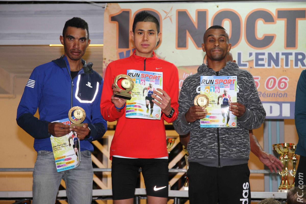 Le trio gagnant: Laurent Tsang Chun Zsé, Géralddo Trulès, et Ludovic Jasmin