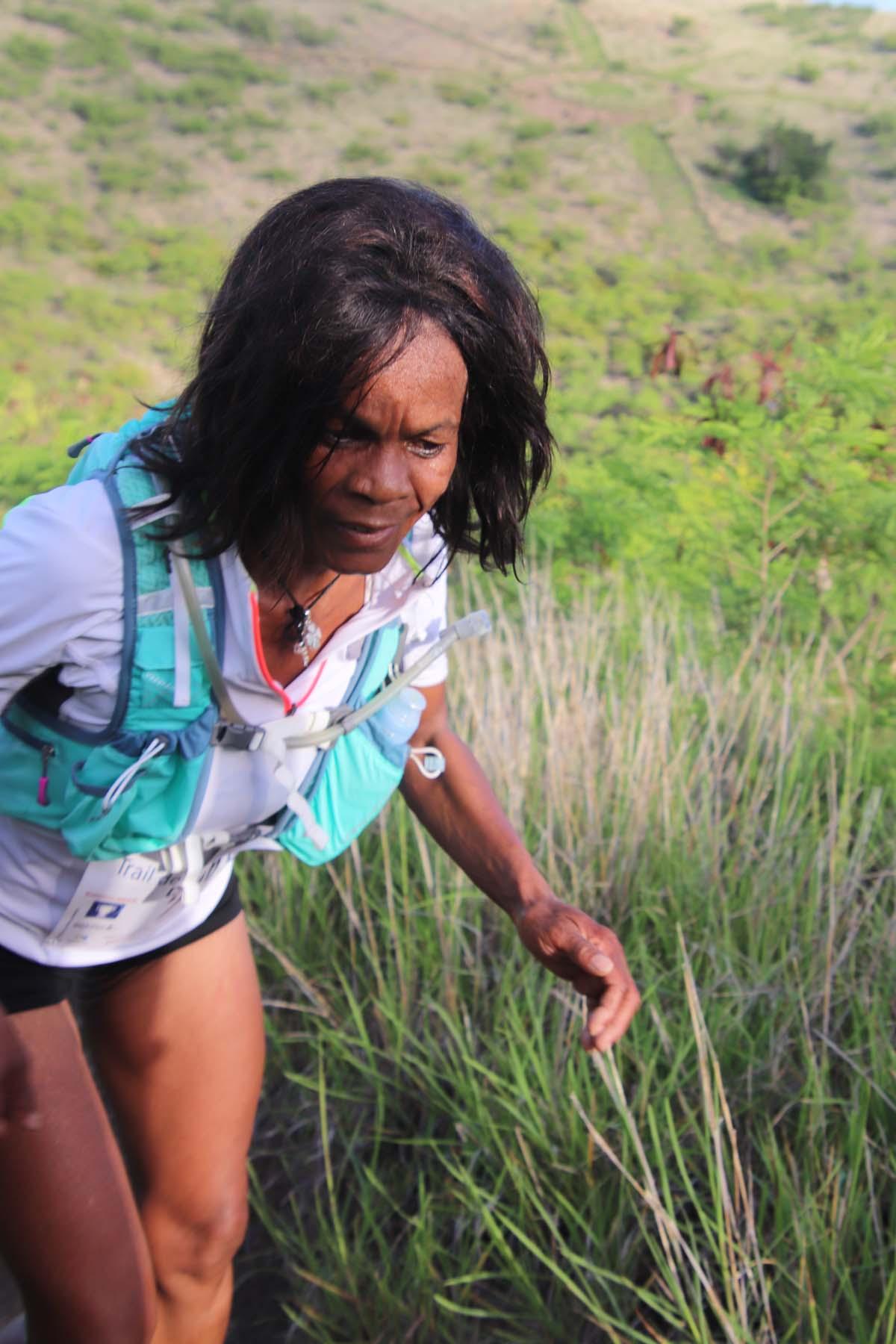 Chantal Hodgi etait en forme et l'a prouvé