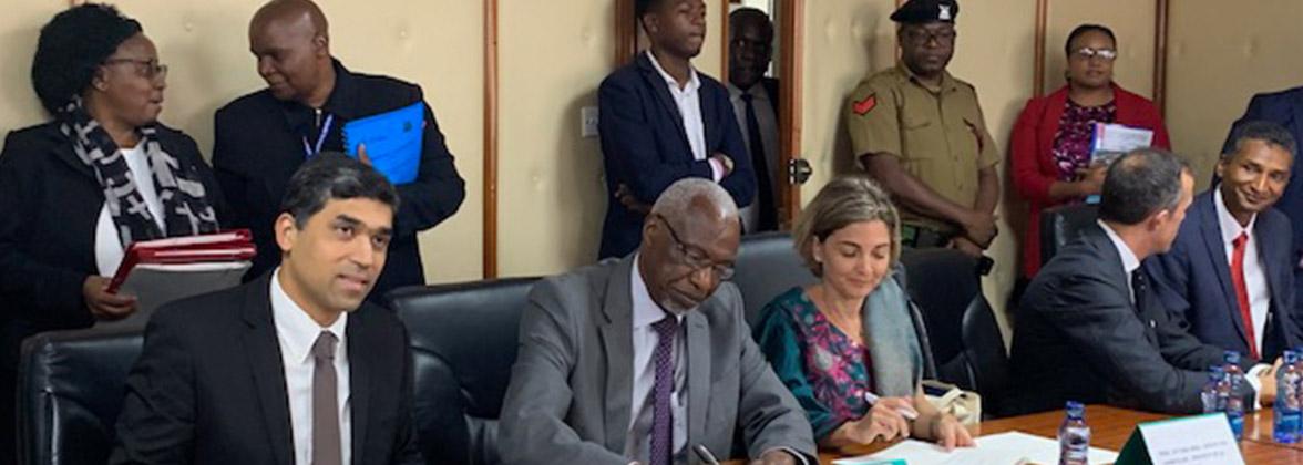 L'Université de La Réunion au Kenya: rencontre avec Emmanuel Macron et signature d'un accord