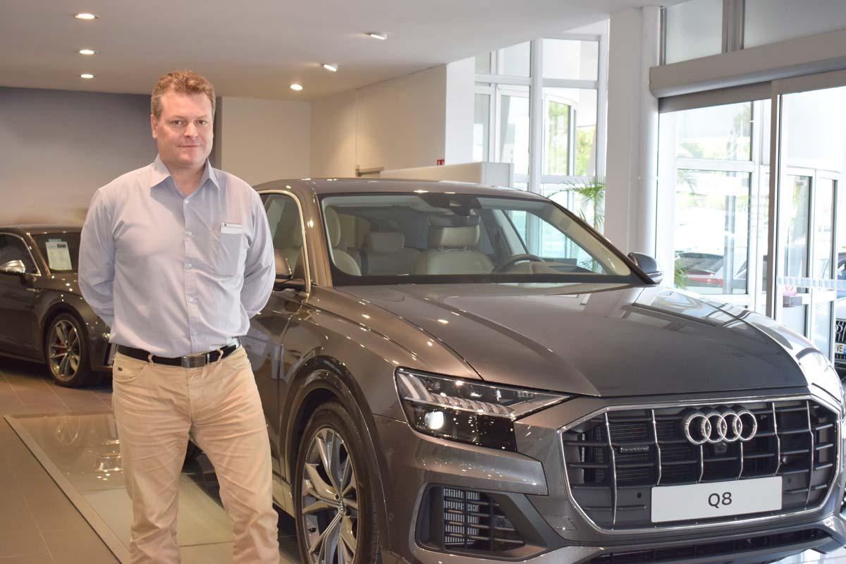 Thomas Anastaze, directeur Audi Réunion