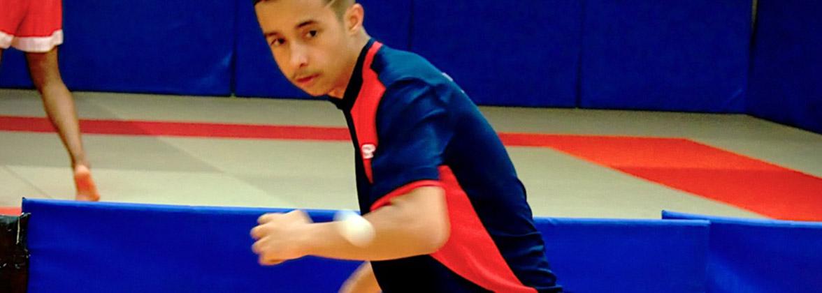 Tennis de table: Antoine Razafinarivo, 14 ans, le surdoué!