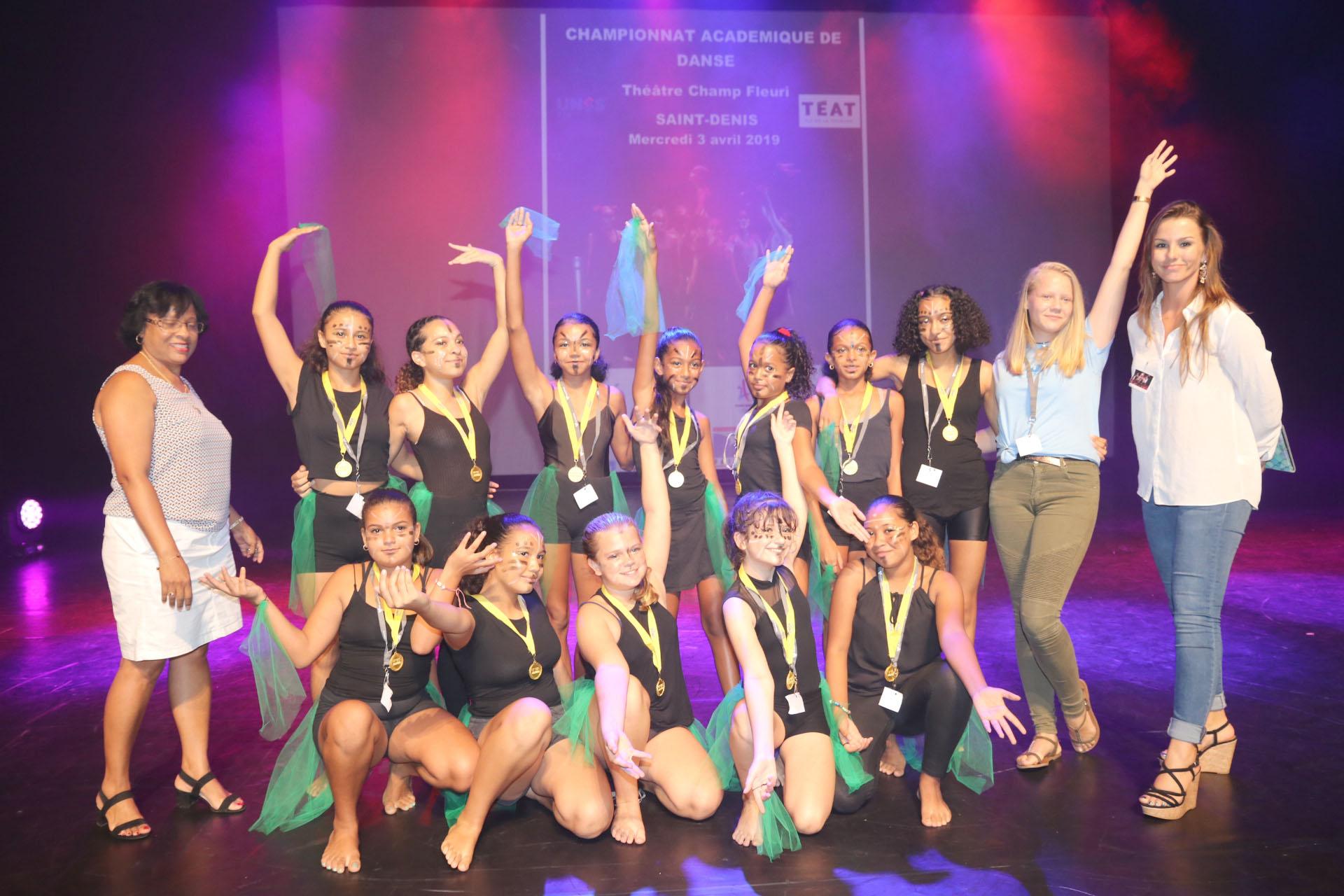 Championnat Académique de Danse 2019: Leconte de Lisle et les Mascareignes champions!