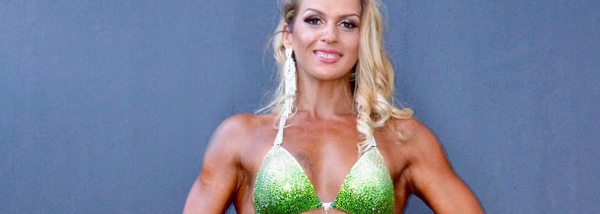Elvina Muller: elle a perdu 30 kg et excelle en body fitness!