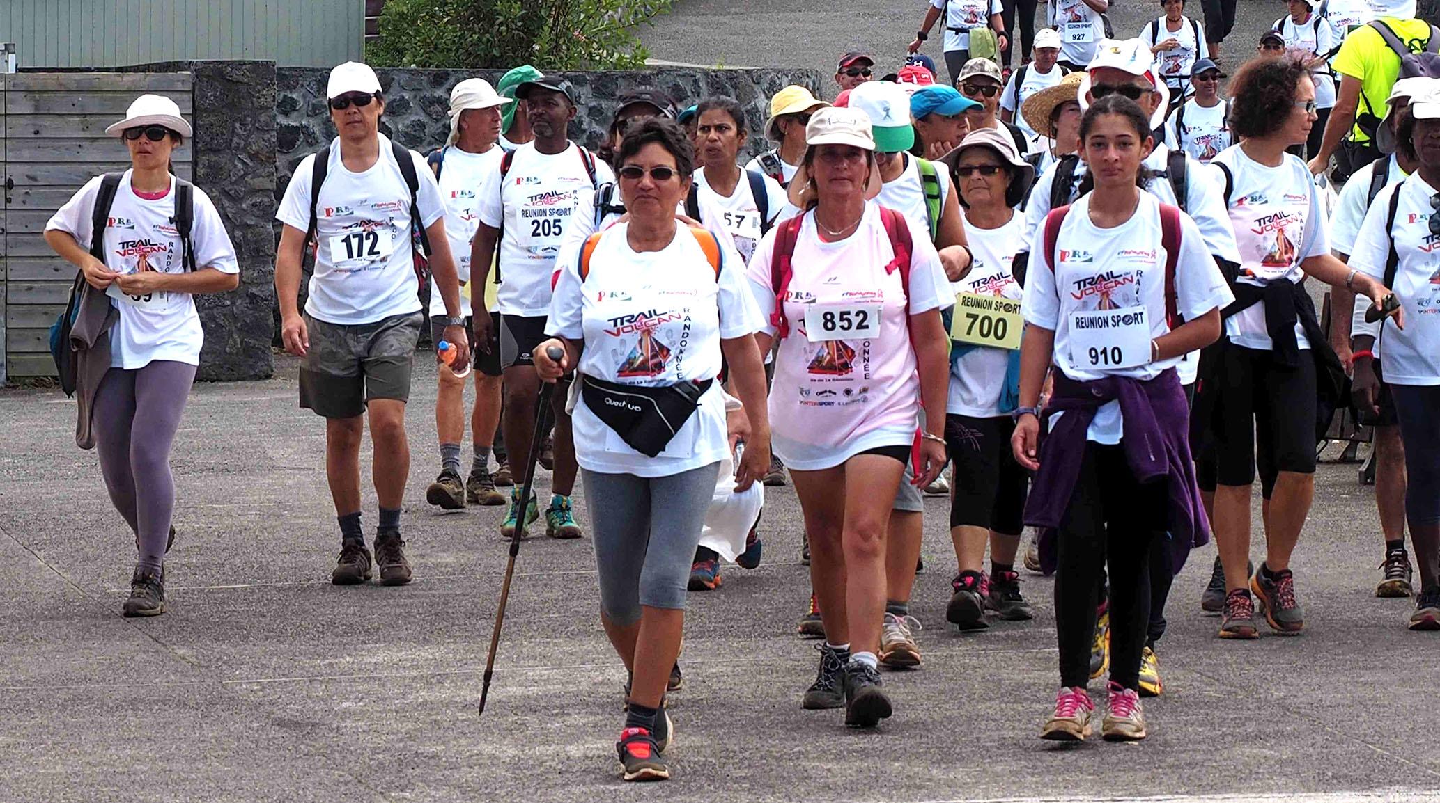 Plusieurs marches seront organisées par le Comité Départemental de la Randonnée Pédestre et l'association Passion Rando Reunion