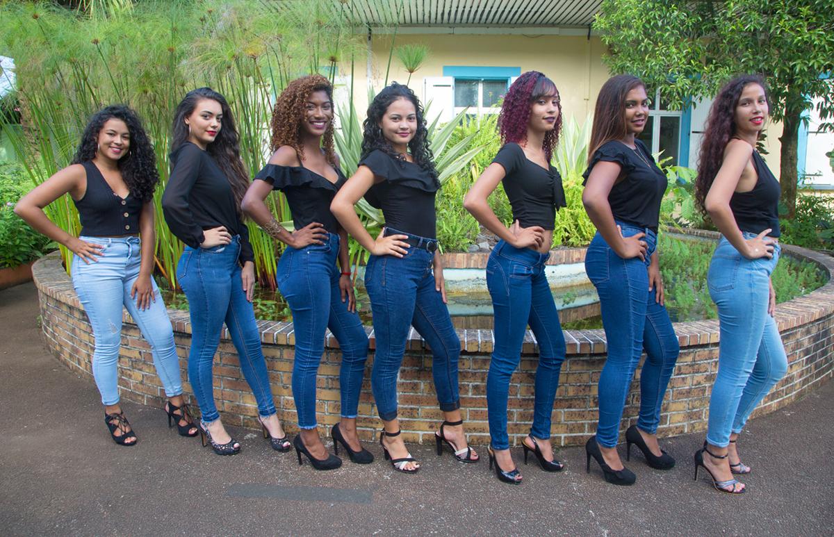 Les 7 candidates Miss Bras-Panon 2019 sont...