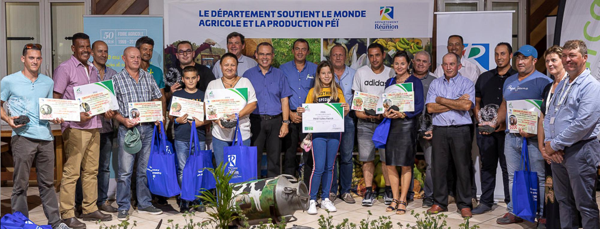 Concours d'élevage 2019: 13 chefs d'exploitations récompensés