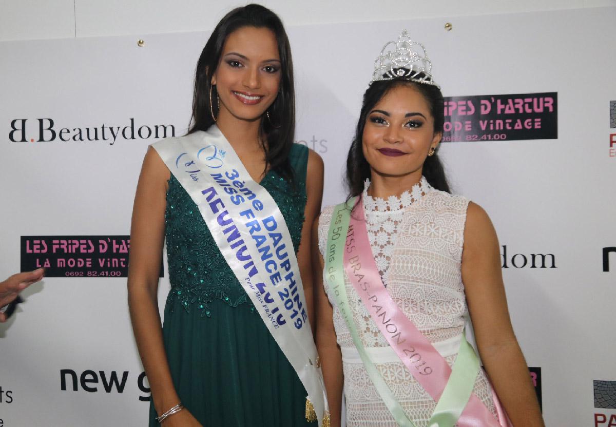 Miss Réunion 2018 et Miss Bras Panon 2019