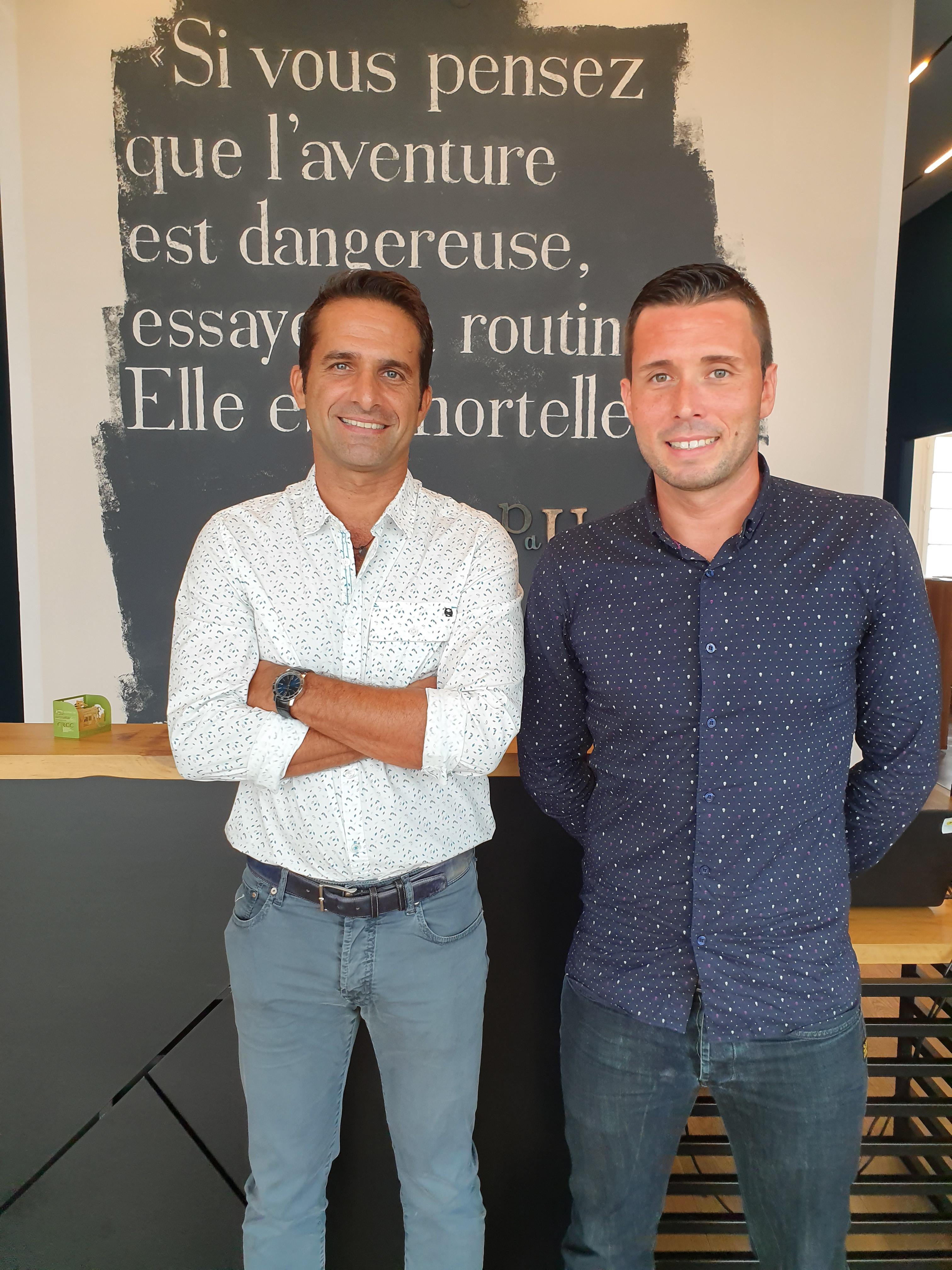 Kouresh Koytcha et Julien Codevelle