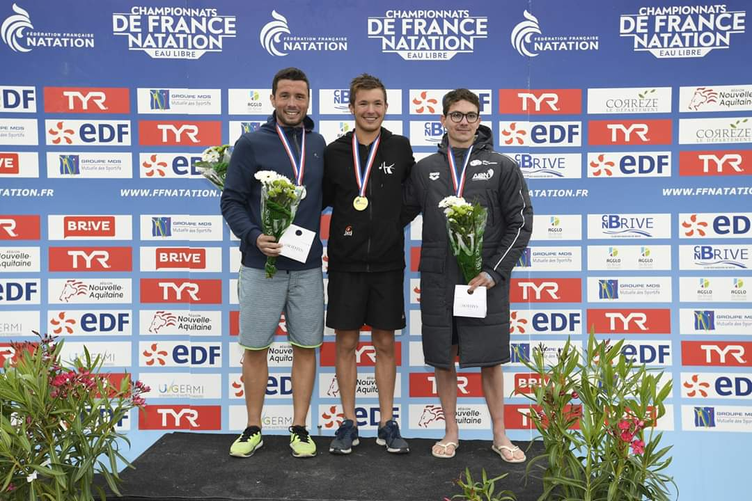 Julien Codevelle,  Clément Batte, et Alexandre Verplatetse