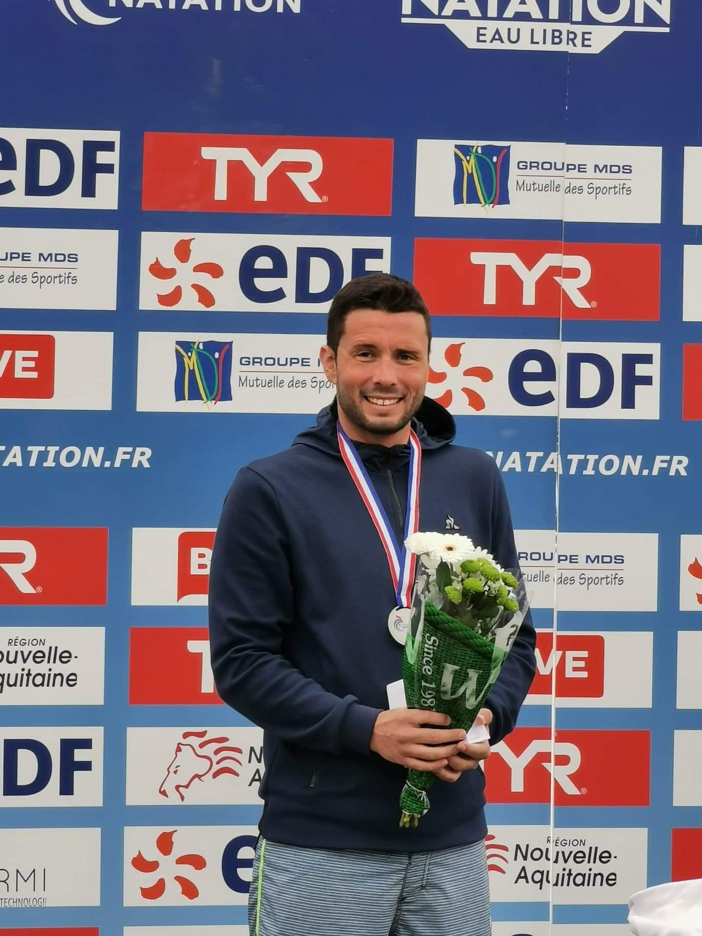 Bravo au Réunionnais Julien Codevelle, médaillé d'argent