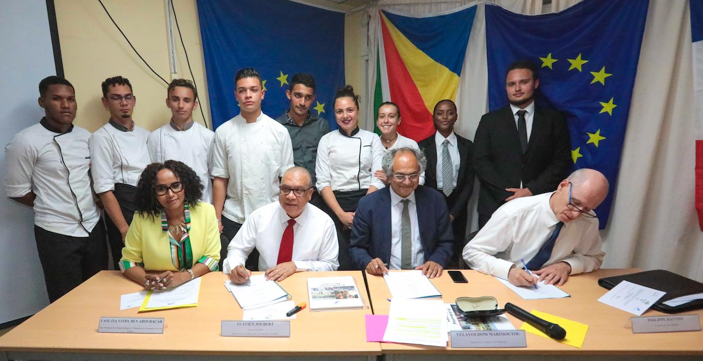 La Région Réunion soutient la formation des jeunes dans l'Océan Indien