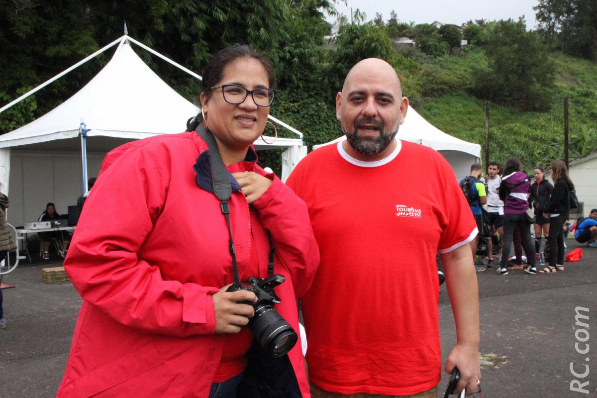 Véronique Lovelas et David Cacoud de l'OTI Est, convaincus que le Salaozy Festival Nature est plein d'avenir