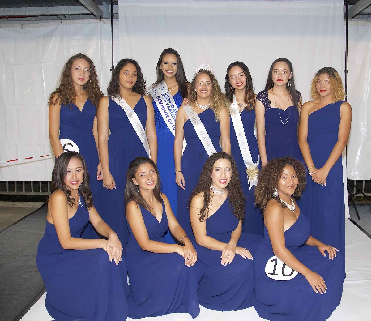 Avec Miss Réunion 2018
