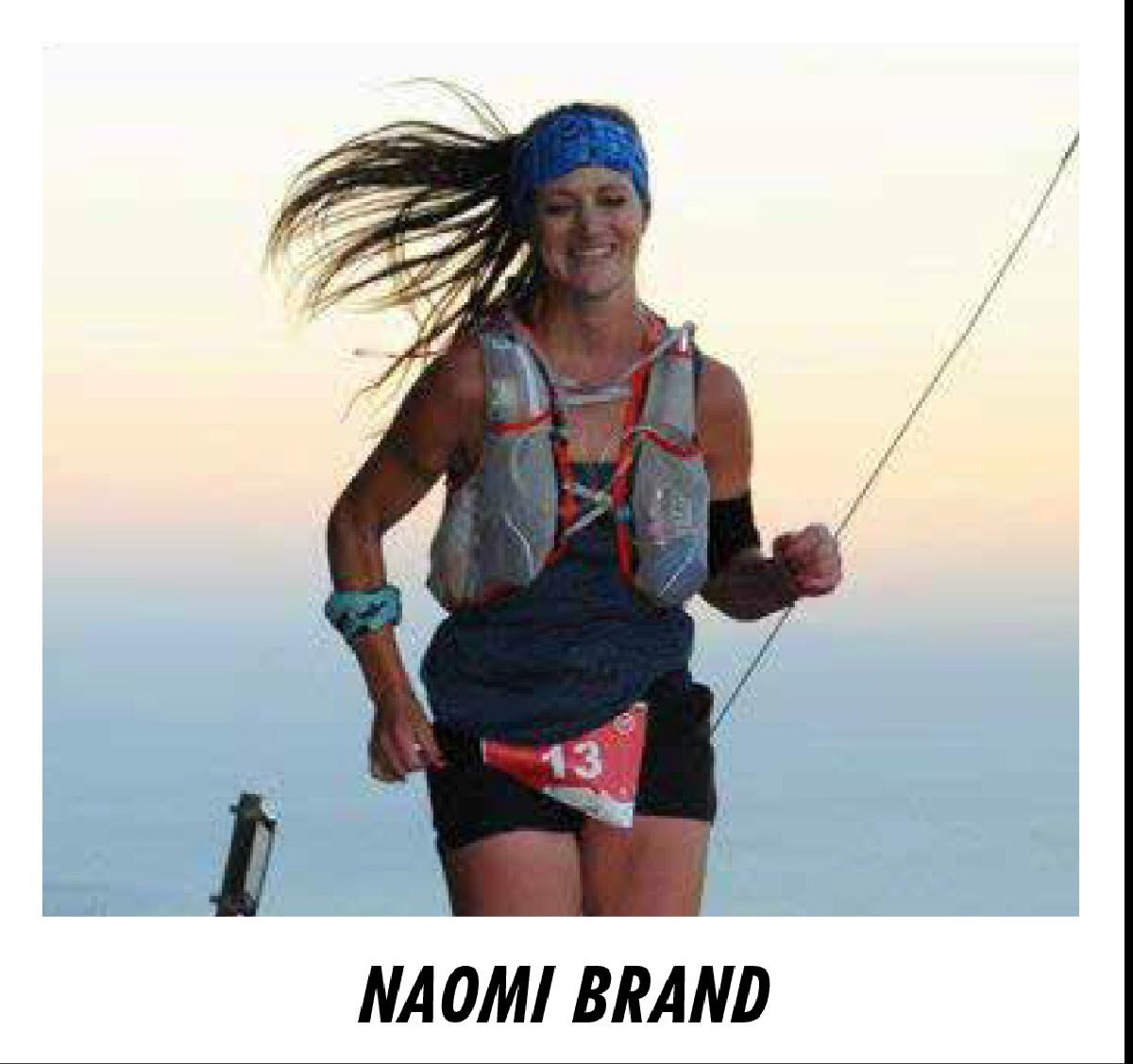 La Sud-Africaine Naomi Brand, une traileuse de renommée qui ne viendra pas pour se balader