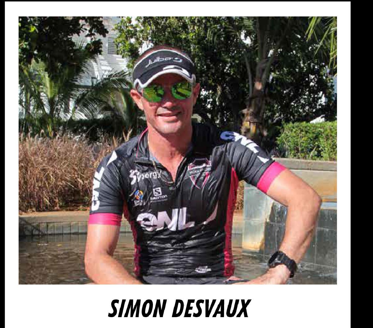 Simon Desveaux revient du championnat du monde de trail, sous les couleurs de Maurice