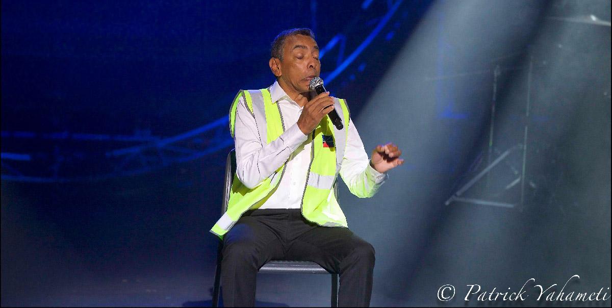 Thierry Jardinot fait le show!