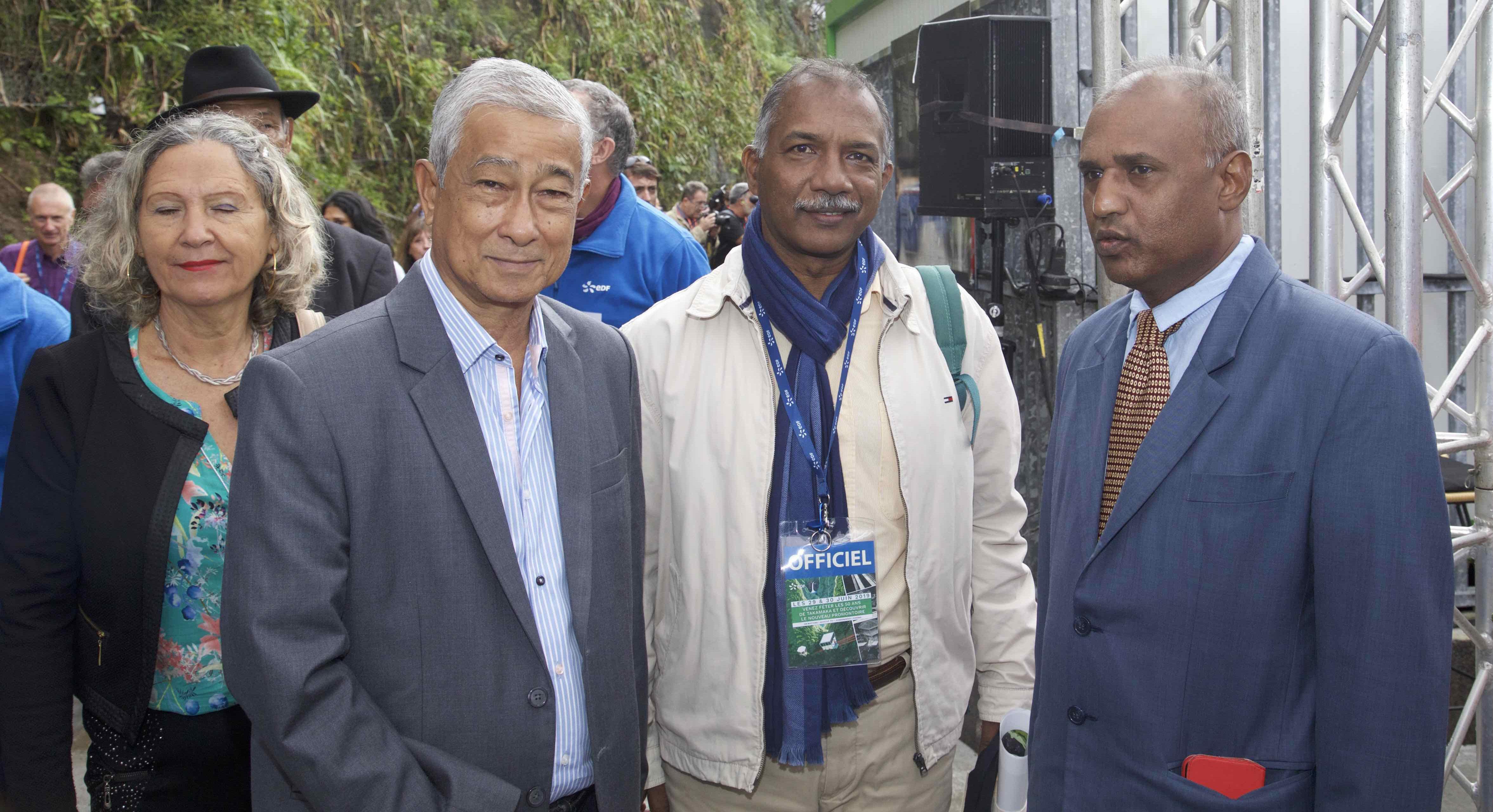 Les 50 ans de la centrale hydroélectrique de Takamaka: photos