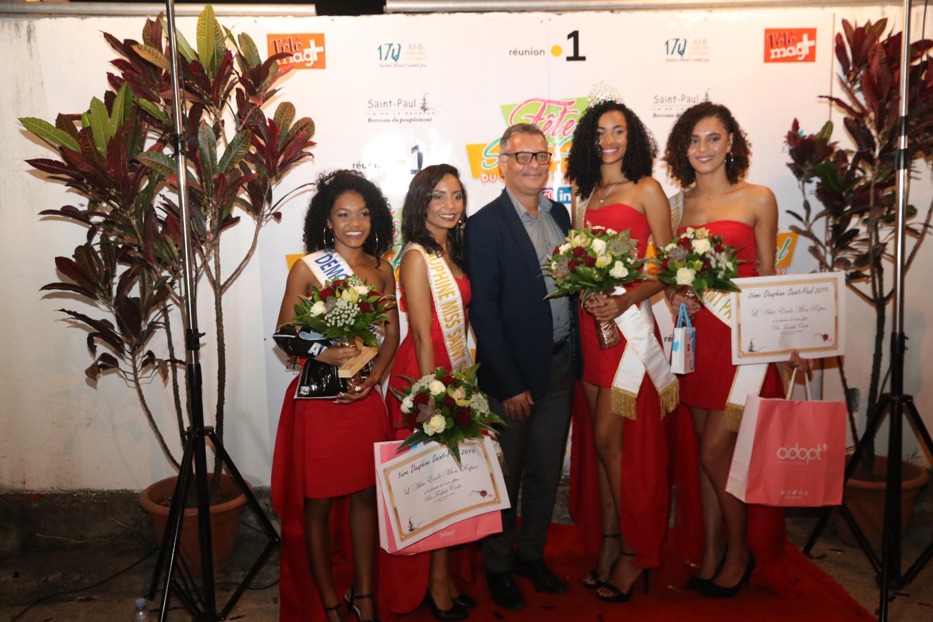 Miss Saint-Paul 2019: Mélanie Odules élue