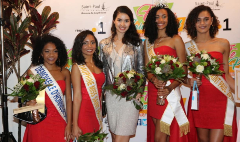 Avec Ambre N'guyen, Miss Réunion 2016